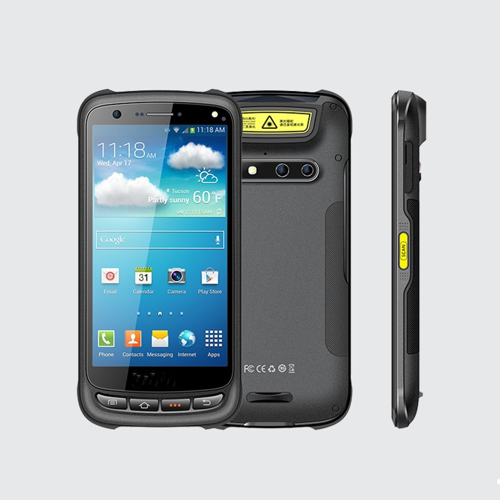 PDA502 rugged 4G industrial android handheld PDA